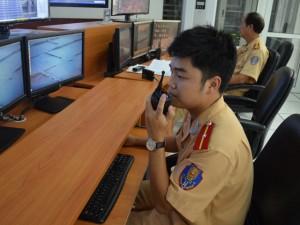 """Tin tức trong ngày - Đằng sau """"mắt thần"""" giúp CSGT phát hiện điểm ùn tắc"""