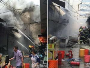 Nổ ở nhà hàng Trung Quốc, 17 người thiệt mạng