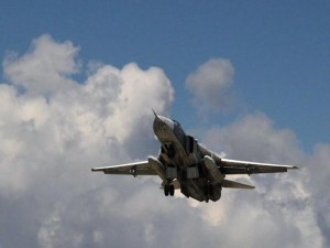 Máy bay Nga giúp quân đội Syria chiếm lại thị trấn chiến lược