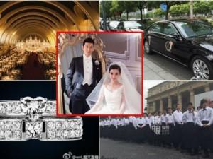 """9 kỷ lục trong """"đám cưới cổ tích"""" của Huỳnh Hiểu Minh"""