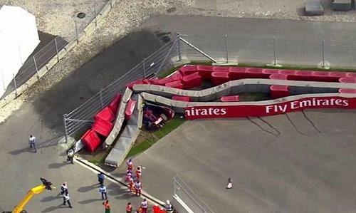 Tay đua sống sót thần kỳ sau tai nạn kinh hãi ở Russian GP - 2