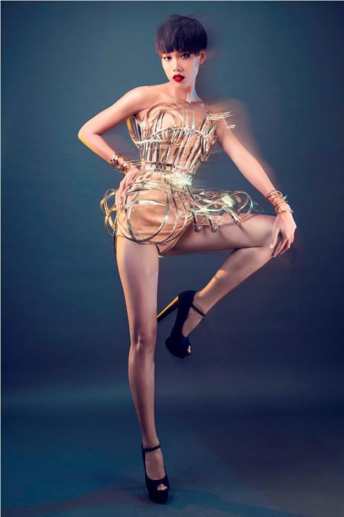 Hương Ly là tân quán quân Vietnam Next Top Model 2015 - 10