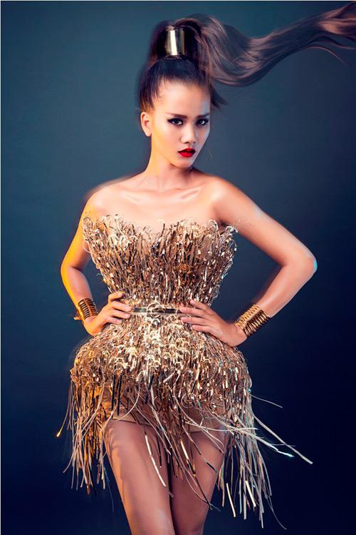 Hương Ly là tân quán quân Vietnam Next Top Model 2015 - 2
