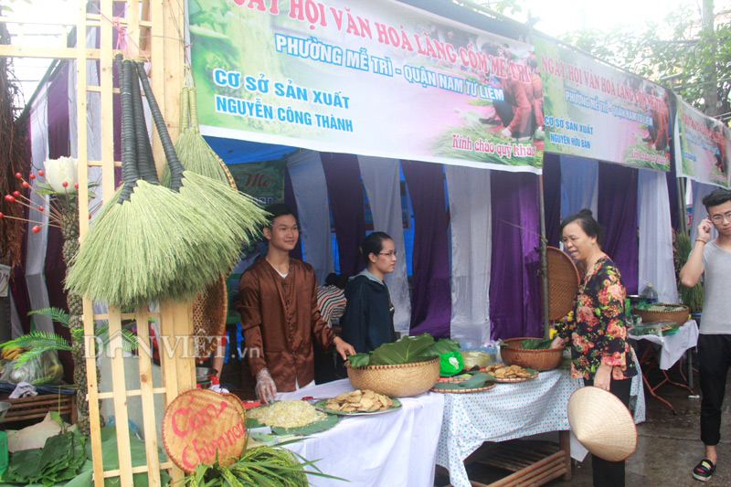 Hương cốm ngào ngạt trong ngày hội làng cốm Mễ Trì - 5