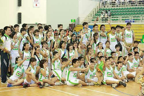 """Festival bóng rổ  """"khuấy đảo"""" học đường TP.HCM - 2"""