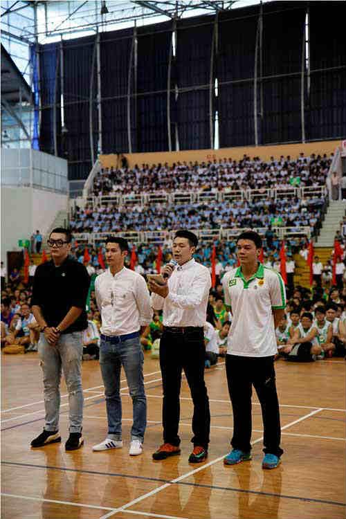 """Festival bóng rổ  """"khuấy đảo"""" học đường TP.HCM - 3"""