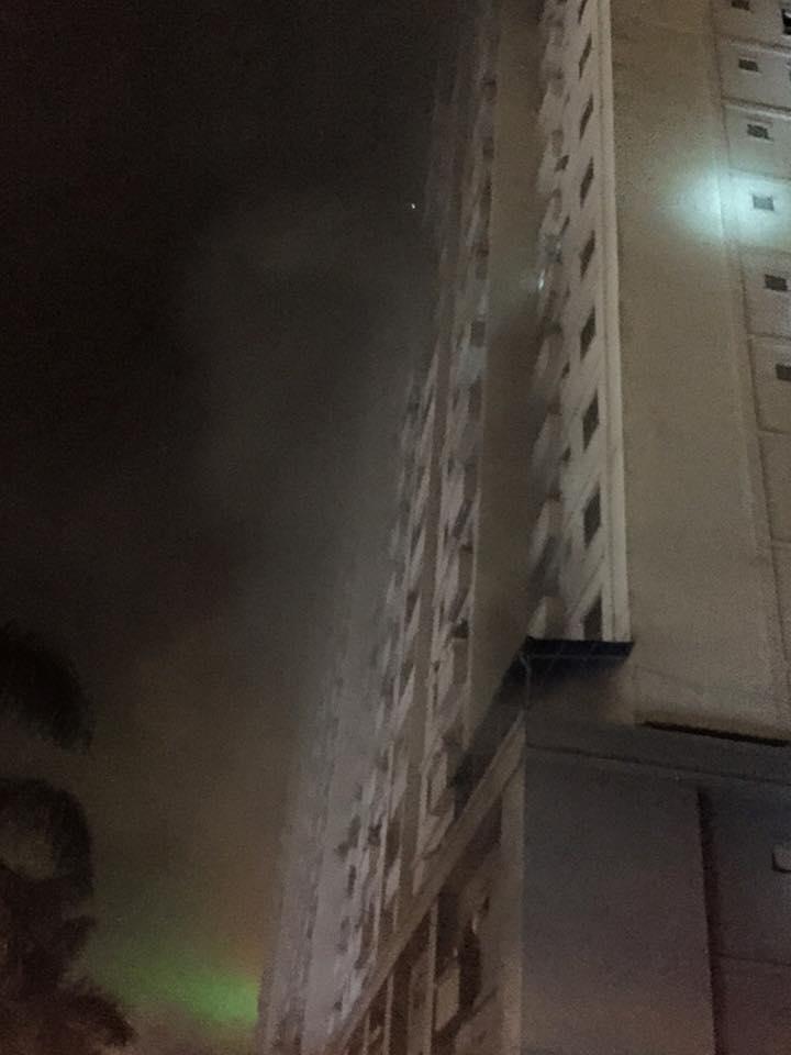 HN: Cháy lớn tại khu đô thị Xa La, nhiều người ngạt khói - 8