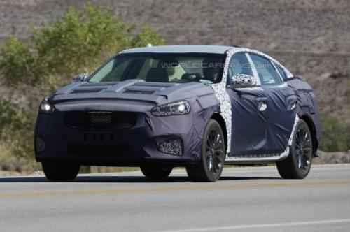 Lộ ảnh thử nghiệm của mẫu xe Kia Cadenza 2017 - 4