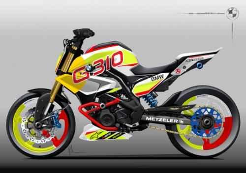 """Soi """"chất lừ"""" của siêu xe mô-tô Concept Stunt G 310 - 2"""