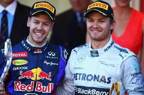 BXH Russian GP: Vettel soán ngôi Rosberg - 1