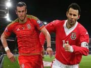"""Bóng đá - Ryan Giggs thật """"nhỏ bé"""" khi so sánh với Bale"""