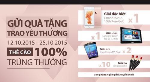 TechOne giảm giá smartphone, tặng iPhone 6S Plus dịp 20/10 - 1