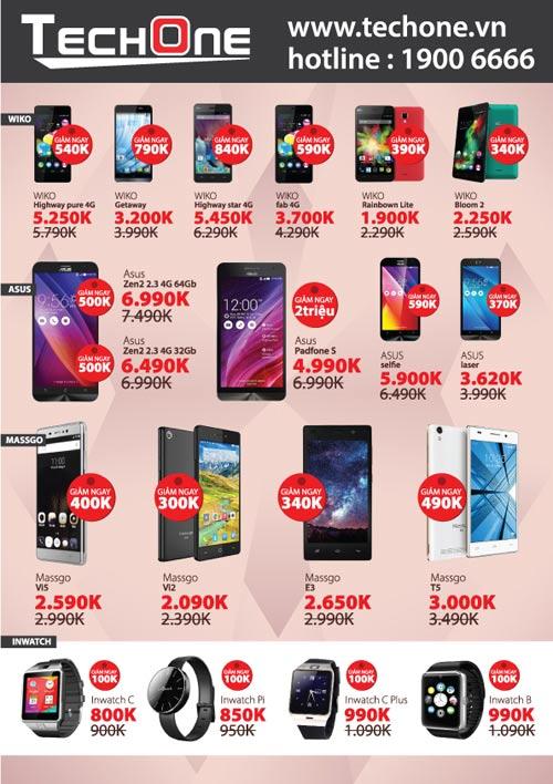 TechOne giảm giá smartphone, tặng iPhone 6S Plus dịp 20/10 - 4