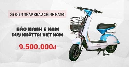Ra mắt xe điện 133+ nhập khẩu với giá chỉ 9,9 triệu đồng - 5