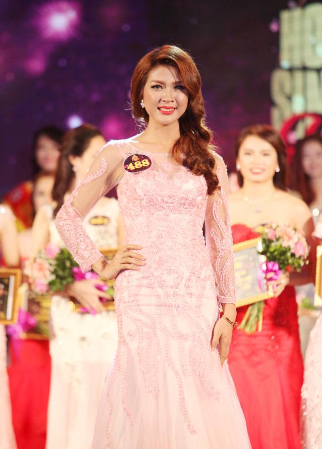 Nữ sinh Công Nghiệp giành ngôi Hoa khôi Sinh viên HN 2015 - 3