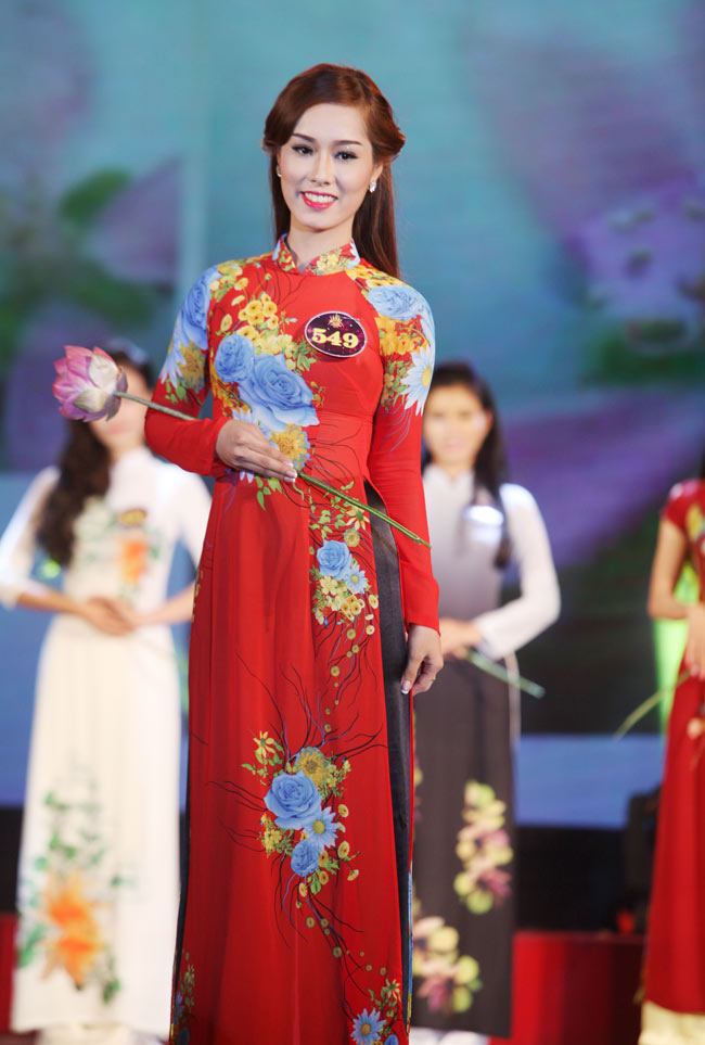 Nữ sinh Công Nghiệp giành ngôi Hoa khôi Sinh viên HN 2015 - 10
