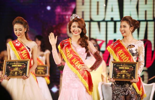 Nữ sinh Công Nghiệp giành ngôi Hoa khôi Sinh viên HN 2015 - 2