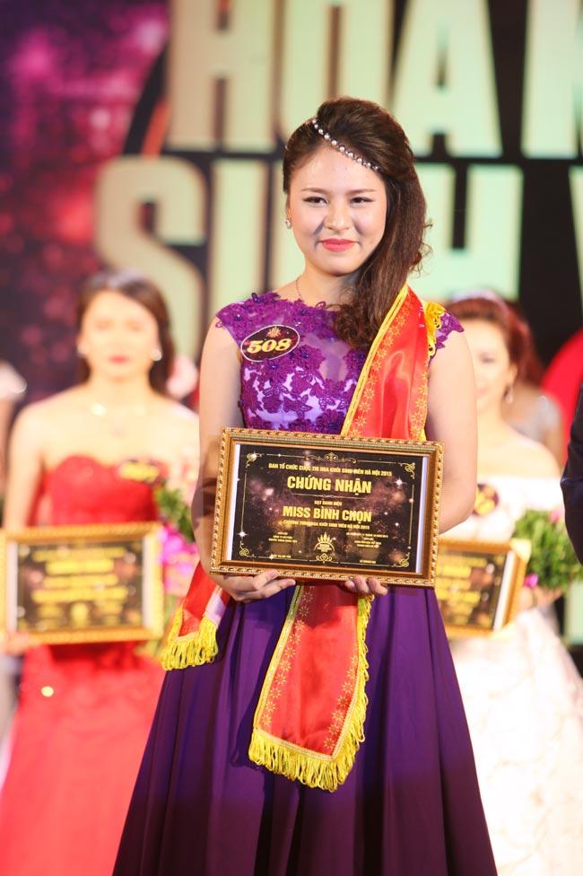 Nữ sinh Công Nghiệp giành ngôi Hoa khôi Sinh viên HN 2015 - 4
