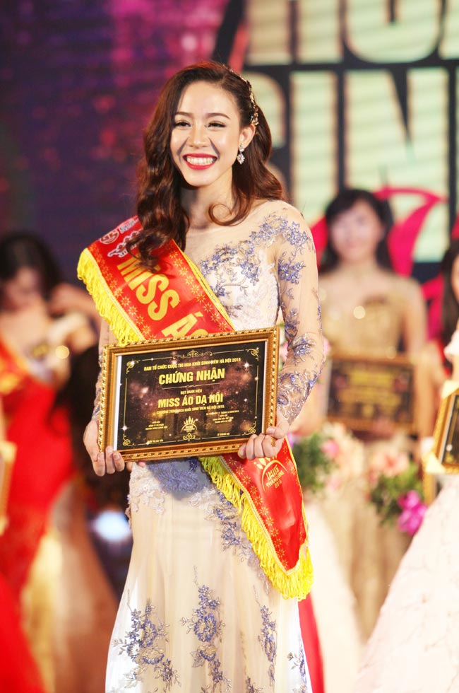 Nữ sinh Công Nghiệp giành ngôi Hoa khôi Sinh viên HN 2015 - 5