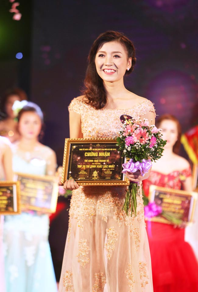 Nữ sinh Công Nghiệp giành ngôi Hoa khôi Sinh viên HN 2015 - 6