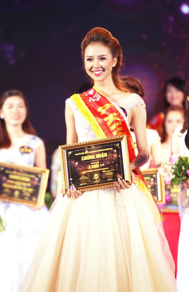 Nữ sinh Công Nghiệp giành ngôi Hoa khôi Sinh viên HN 2015 - 7