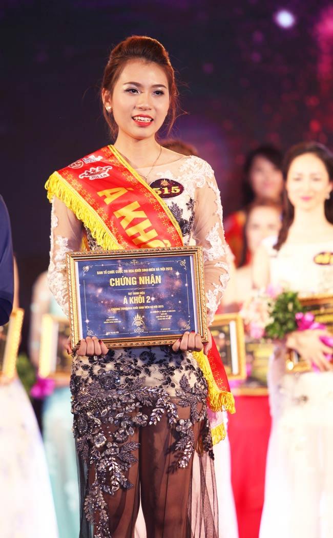 Nữ sinh Công Nghiệp giành ngôi Hoa khôi Sinh viên HN 2015 - 8