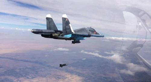 """Mỹ """"nhường đường"""" cho chiến đấu cơ Nga ở Syria - 1"""