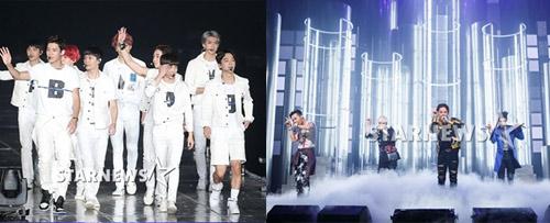 """Big Bang bất ngờ bị đàn em EXO """"vượt mặt"""" - 1"""