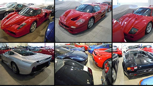 """""""Choáng"""" với tài sản của người sở hữu hơn 7000 siêu xe - 1"""
