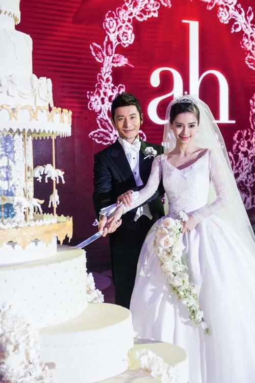Gần 6 tỷ lượt theo dõi đám cưới Huỳnh Hiểu Minh qua mạng - 4