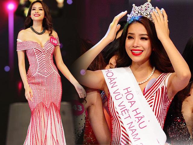 Váy hot nhất tuần: Đầm pha lê rực rỡ của Phạm Hương