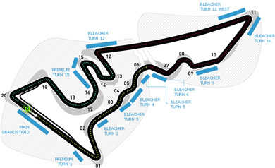 Lịch thi đấu F1: United States GP 2015 - 1
