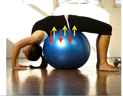 Yoga DOME ball - sự nâng đỡ hoàn hảo lấy lại vóc dáng sau sinh - 3