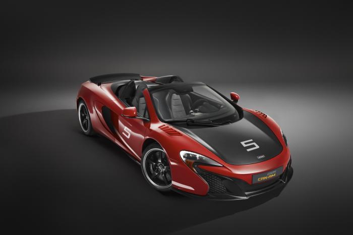 Mê mẩn với mẫu xe McLaren 650S Spider bản đặc biệt - 1