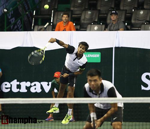 Cặp Hoàng Nam - Nagal thất thủ ở vòng đầu VN Open 2015 - 2