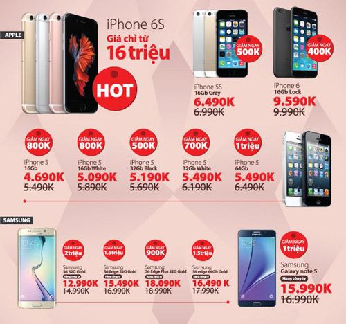 iPhone 6S/ iPhone lọt top quà tặng hot nhất 20/10 - 5