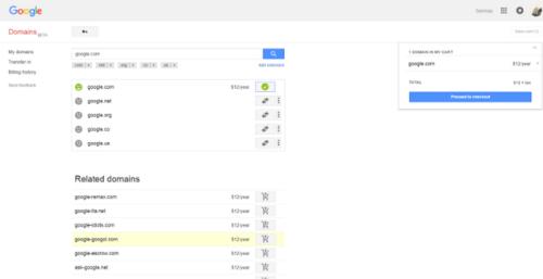 Sở hữu tên miền Google.com trong 1 phút, được tặng 10.000 USD - 2