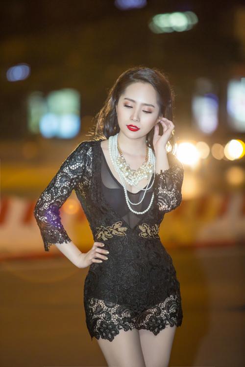 Bất ngờ với vẻ sexy của Quỳnh Nga ngày đi hát trở lại - 7