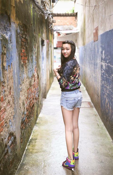 Thời trang cá tính của cô bé 13 tuổi sở hữu chiều cao 1m70 - 6