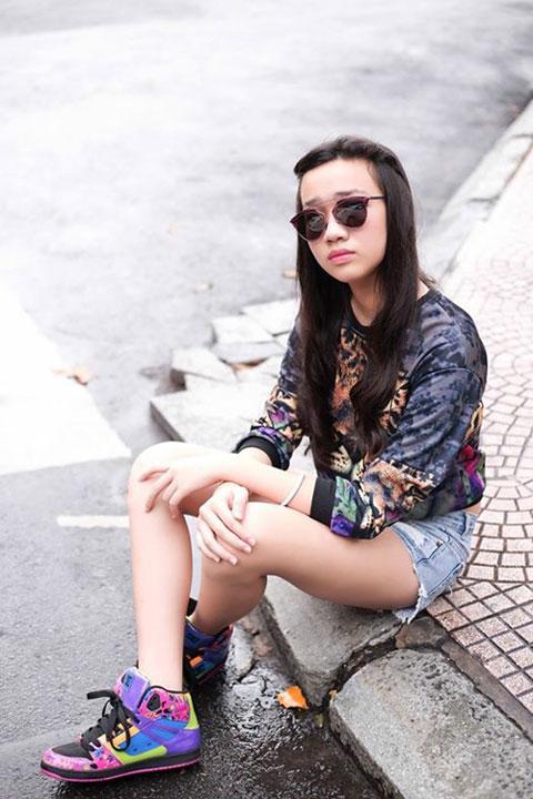 Thời trang cá tính của cô bé 13 tuổi sở hữu chiều cao 1m70 - 7