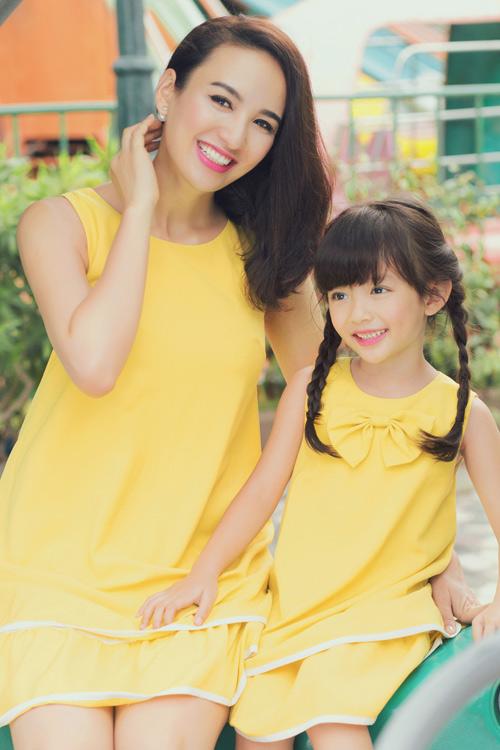 Con gái xinh như thiên thần của hoa hậu Ngọc Diễm - 1