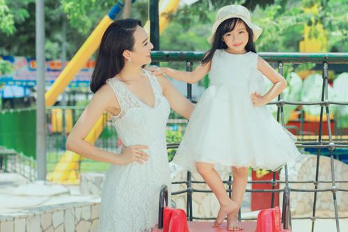 Con gái xinh như thiên thần của hoa hậu Ngọc Diễm - 8