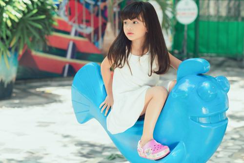 Con gái xinh như thiên thần của hoa hậu Ngọc Diễm - 9
