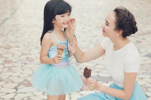 Con gái xinh như thiên thần của hoa hậu Ngọc Diễm - 10
