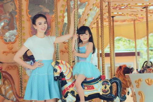 Con gái xinh như thiên thần của hoa hậu Ngọc Diễm - 12