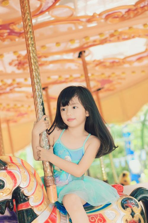 Con gái xinh như thiên thần của hoa hậu Ngọc Diễm - 2