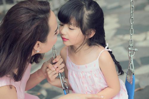 Con gái xinh như thiên thần của hoa hậu Ngọc Diễm - 6