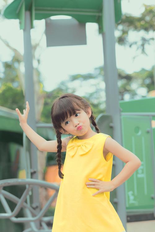 Con gái xinh như thiên thần của hoa hậu Ngọc Diễm - 3