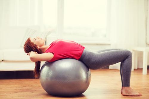 Yoga DOME ball - sự nâng đỡ hoàn hảo lấy lại vóc dáng sau sinh - 1