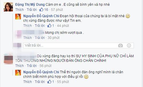 Hot girl Quỳnh Chi đăng status đồng cảm với Midu - 3
